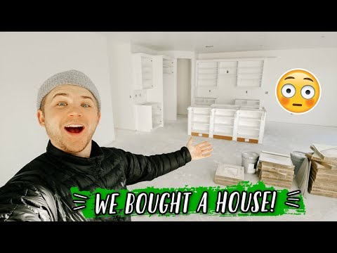 WE BOUGHT A NEW HOUSE!