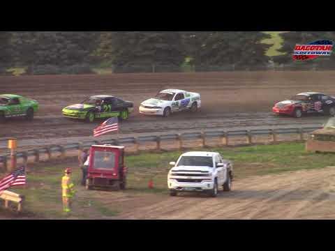 Dacotah Speedway IMCA Sport Compact Races (8/10/18)