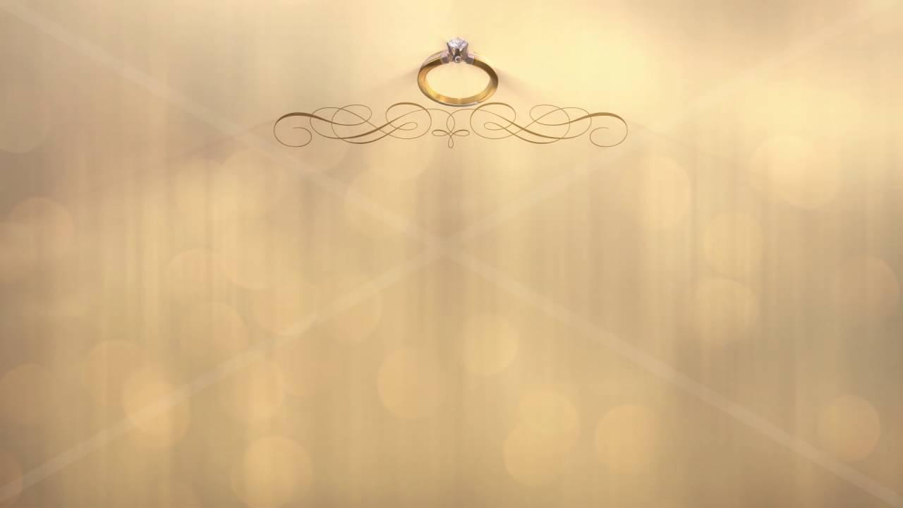 Wedding Rings Background 4k Youtube