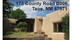 Taos real estate | homes | properties for sale: 173 County Road B006
