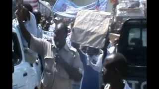 Hali ilivyokuwa katika Maandamano ya leo jijini Dar es Salaam