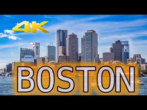 Visit Boston Massachusetts Travel Tour 4K HD