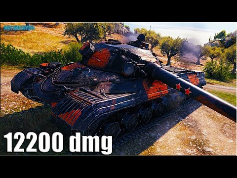 ИМБА танк Объект 277 ? 12200 dmg ? лучший бой World of Tanks тт 10 thumbnail