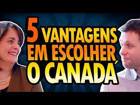 5 VANTAGENS EM ESCOLHER O CANADÁ
