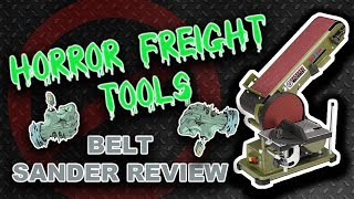 Unbiased Harbor Freight Belt Sander Review