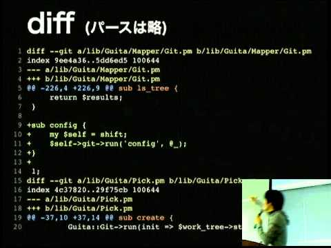 Git on WebApp with perl - Kyoto.pm Tech Talks #01