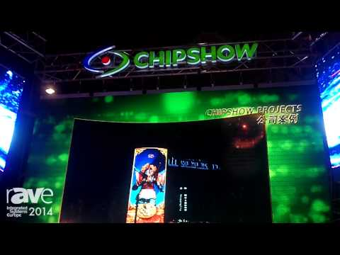 ISE 2014: Chipshow Shows New Screens For Digital Signage Solutions