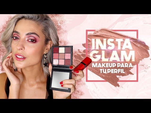 INSTA GLAM - MakeUp para tu perfil de tu Instagram 🤩(ELLA ME MAQUILLÓ CON ORZUELO)