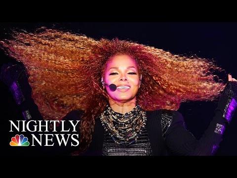Pop Star Janet Jackson Giving Birth At 50, Internet Erupts At News   NBC Nightly News
