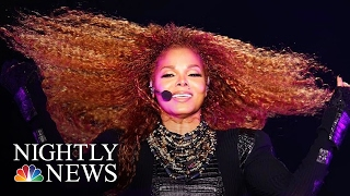 Pop Star Janet Jackson Giving Birth At 50, Internet Erupts At News | NBC Nightly News