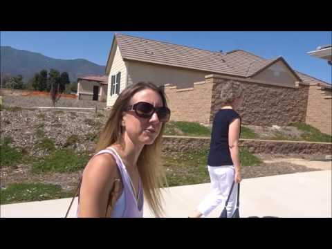 We visit KB homes in Rancho Cucamonga. Half acre lots! Low HOA and low property taxes.