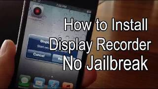 How to install display recorder/how to mobilescreen recorder