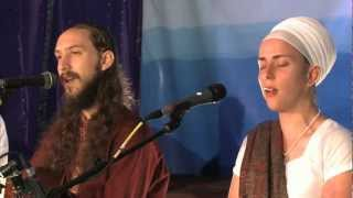"Ram Dass and Nirinjan Kaur Sing ""Namo Namo (Sat Nam)"""