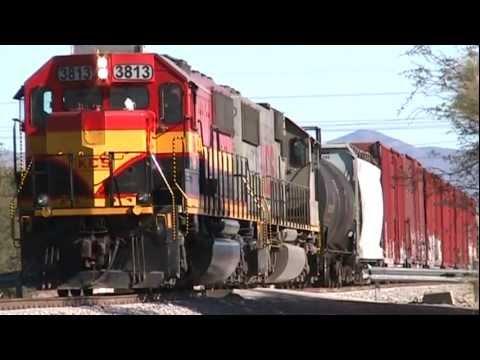 Kansas City Southern de México 2012 - SD60, ES44AC,AC44,S7MP.