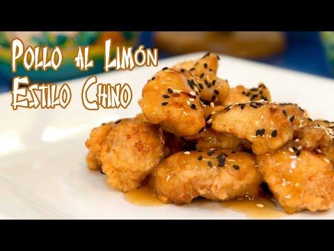 Pollo al Limon Estilo Restaurante Chino