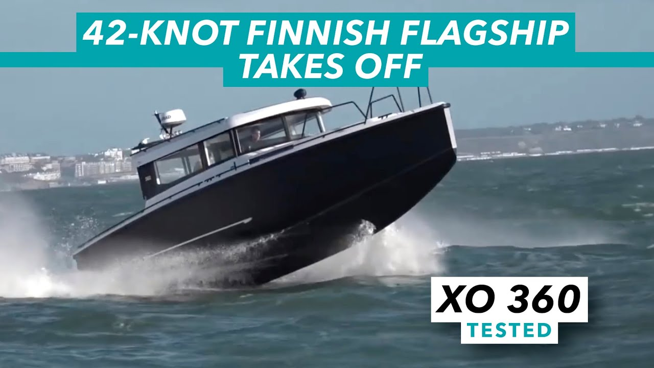 Xo 360 sea trial from motor boat yachting youtube for Outboard motor for canoe