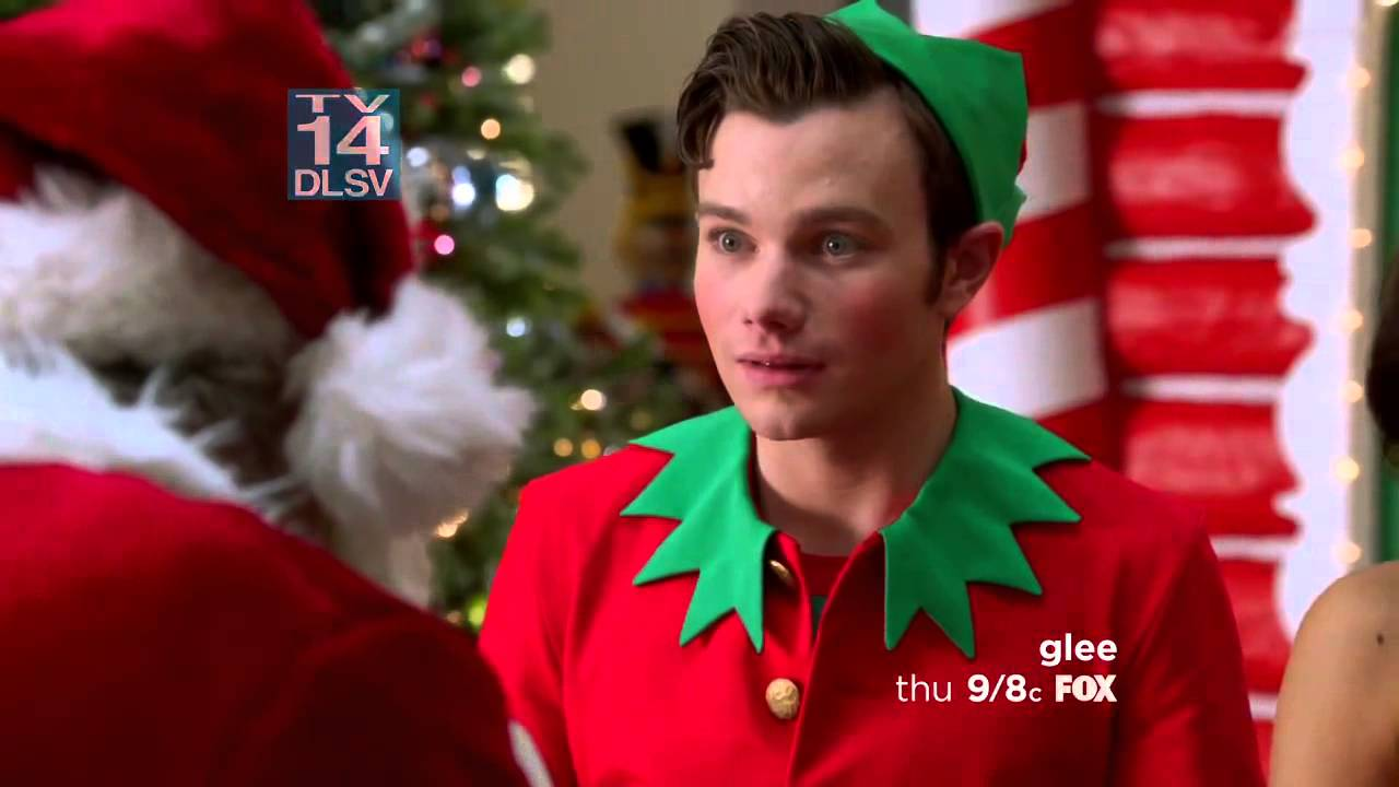 shazam for a free song during previously unaired christmas glee - Glee Previously Unaired Christmas