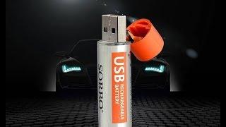 1 година швидка зарядка USB літій-полімерна АА #батареї. 4шт Сорбо 1.5 в 1200мАч