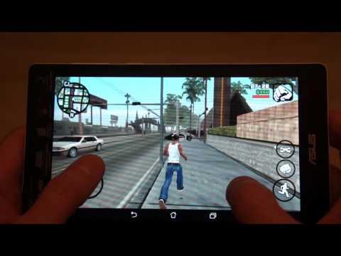 ASUS ZenPad C 7 0 GTA San Andreas GamePlay