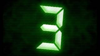 Repeat youtube video Countdown Green Glow - Dramatic Timer