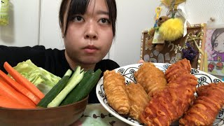 ファミマのクリスピーチキン食べるよ(ハバネロホット&プレーン)
