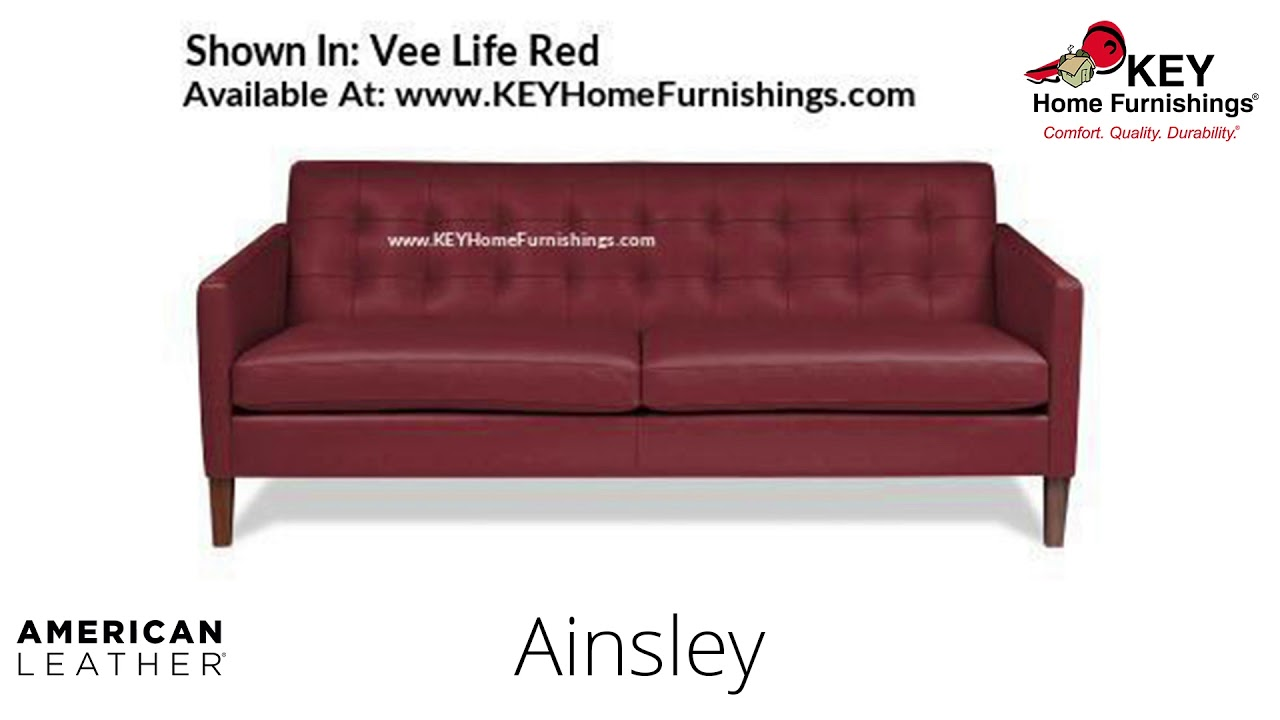 The Ainsley Sofa | American Leather Cover Gallery – Fabric & Leather |  Portland 2018