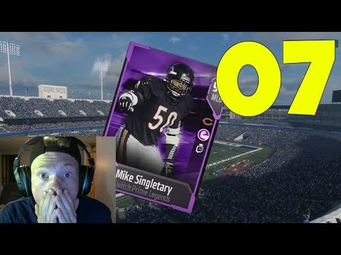 90 OVERALL MIKE SINGLETARY! 90 HIT POWER! TWITCH PRIME! - MADDEN 18 ULTIMATE TEAM GAMEPLAY EP 7