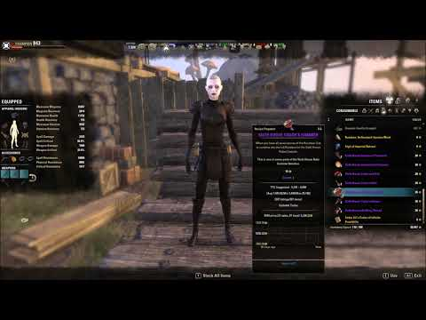 Craft 7 Sixth House Robe Costume Elder Scrolls Online