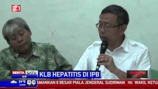 Untuk mengetahui penyebab dan memutus mata rantai penularan virus Hepatitis A, petugas kementrian ke.