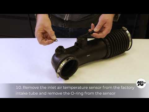 Learn How to Install K&N Air Intake System #77-1578KP on your Ram 1500 5.7L