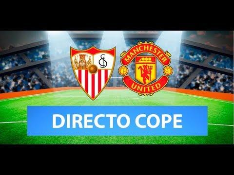 (SOLO AUDIO) Directo del Sevilla 2-1 Manchester United en Tiempo de Juego COPE