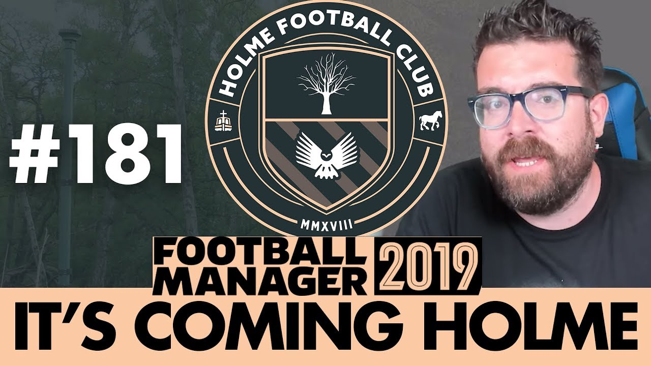HOLME FC FM19   Part 181   TOP OF THE TABLE CLASH   Football Manager 2019