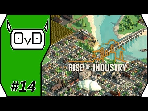 Rise of Industry: Alpha 5 | Part 14 |  OFFICE FURNITURE STEPSTONE (Gameplay, Let's play)