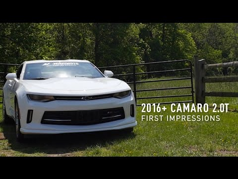 Tony Angelo Comes to Mishimoto! 2016 Camaro 2.0T First Impressions – On The Road