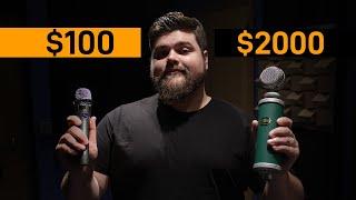 $100 vs. $2000 | VO Mic Comparison