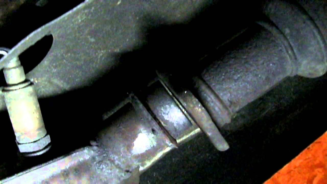 exhaust flange repair this will save you hundreds of dollars works on any car or truck