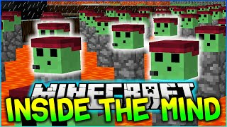 PETEZAHHUTT PARKOUR - Minecraft INSIDE THE MIND OF A PETEZAHMOB #1 - w/Preston, Kenny & Brandon!