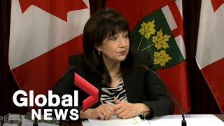 "Coronavirus: Ontario government criticized for ""slower, reactive"" response to COVID-19   FULL"