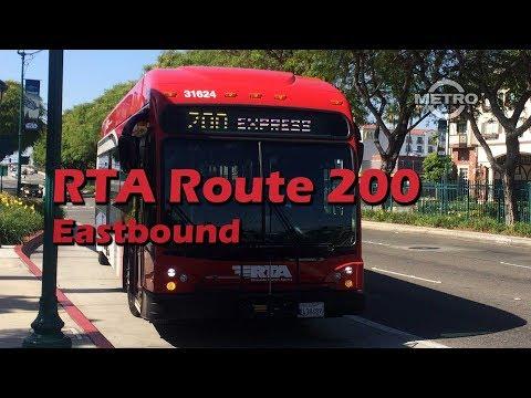 TMN | TRANSIT - RTA Route 200 Anaheim To San Bernardino (Eastbound) FULL RIDE