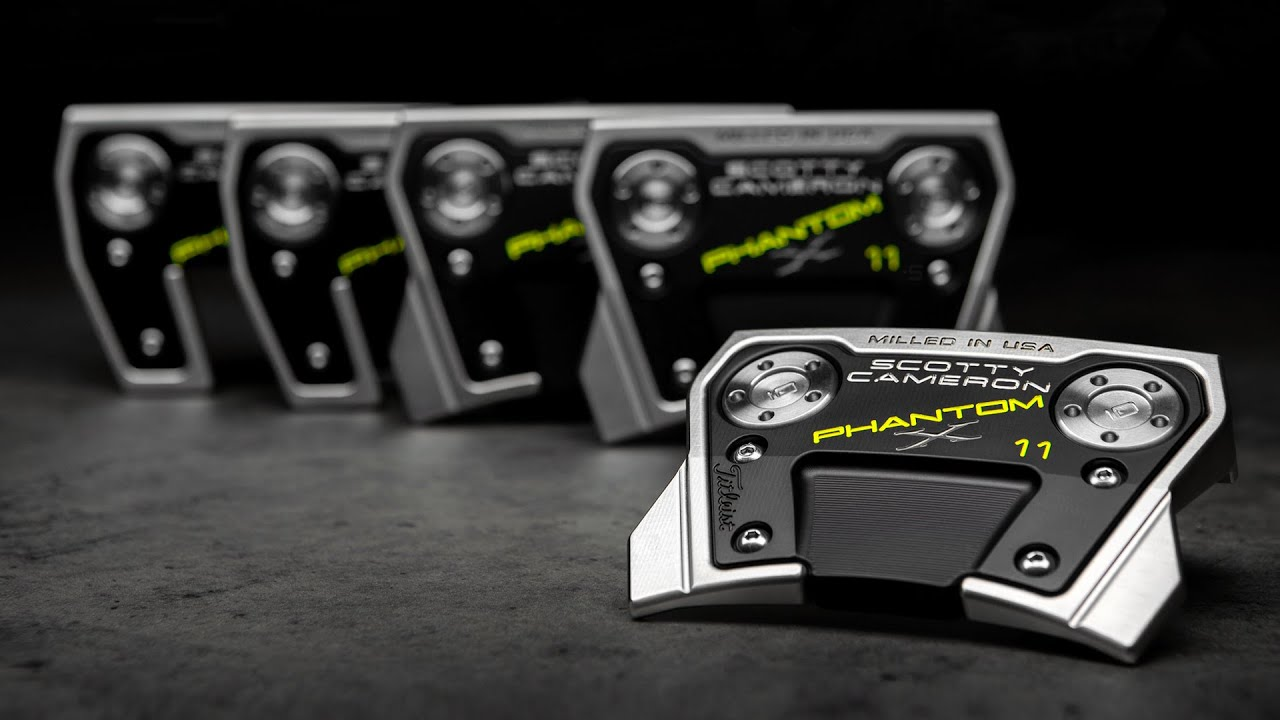 Introducing New 2021 Phantom X Mallets | Scotty Cameron Putters 4k