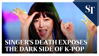 Singer#39s death exposes the dark side of K-pop