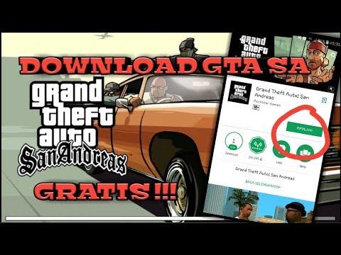 Cara Download GTA SAN ANDREAS GRATIS DI ANDROID / GTA SA APK+OBB