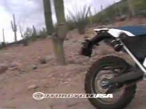 Dirt Bike Review - 2007 BMW G650 Xchallenge