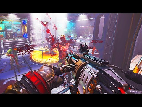 *NEW* INSANE SPACE STATION ZOMBIES MAP COMPLETED! (Call of Duty Black Ops 3 Custom Zombies) thumbnail