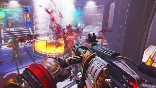 *NEW* INSANE SPACE STATION ZOMBIES MAP COMPLETED! (Call of Duty Black Ops 3 Custom Zombies)