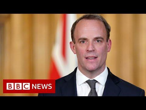 Coronavirus: Raab urges UK public not to ruin lockdown progress - BBC News