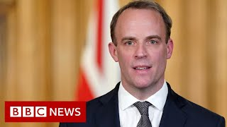 Coronavirus: Raab urges UK public not to ruin lockdown progress - BBC News