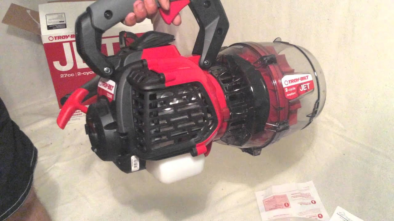 Tb2mb Troy Built Jet 27cc 2 Cycle Mixed Flow Blower