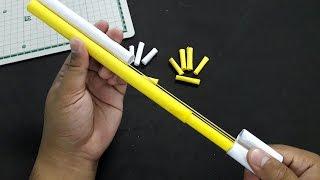 สอนทำปืนกระดาษ แบบง่ายๆ ยิงได้เจ๋งๆ | Ep-Gun 4 | How to paper gun easy