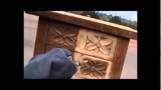 SABLEUSE AEROGOMMEUSE HYDROGOMMEUSE 18L vidéo